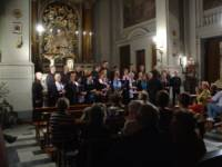 Inside the little church of Santa Maria dei Ricci