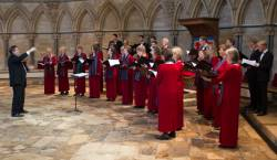 The Bergedorfer Kammerchor in Lincoln Cathedral