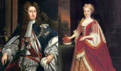King George II & Queen Caroline